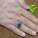دست راست کردن انگشتری2