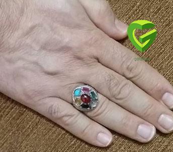 دست راست کردن انگشتری1