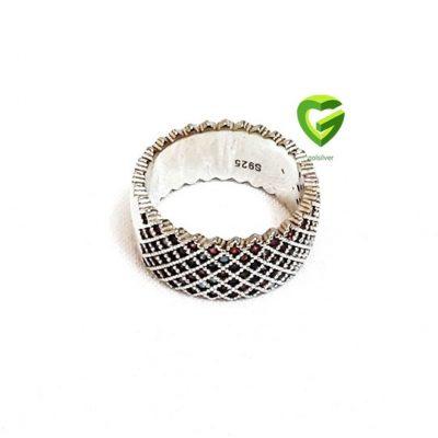 Women's silver ring code 116