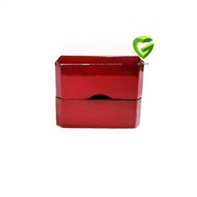 جعبه انگشتر آلبالویی کد345