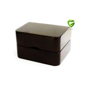 جعبه انگشترزوج زیتونی کد526