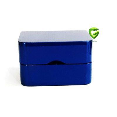 جعبه انگشترزوج آبی کد341