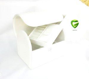 جعبه کلکسیونی سفید کد326