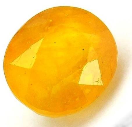 سنگ یاقوت زرد