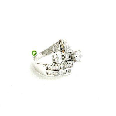 انگشترنقره سولیتر کد 1165