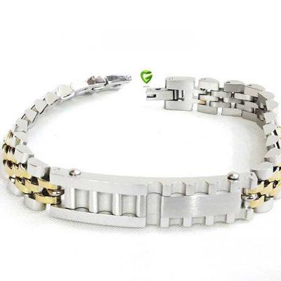 دستبندمردانه رولکس سفید کد155
