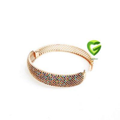 دستبند رزگلد رنگی کد2054
