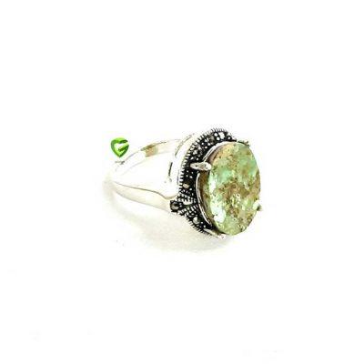 انگشتر نقره زنانه8 کد614