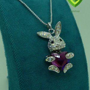 آویز سواروسکی خرگوش کد 809